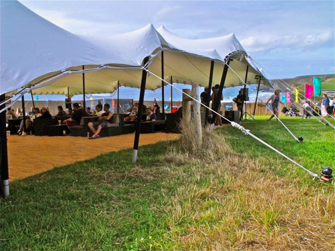 Festival VIP Stretch Tent Hire