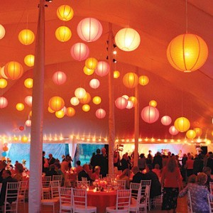 Alternative Wedding Marquee decor