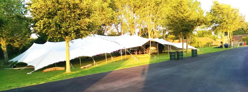 Alternative wedding marquees
