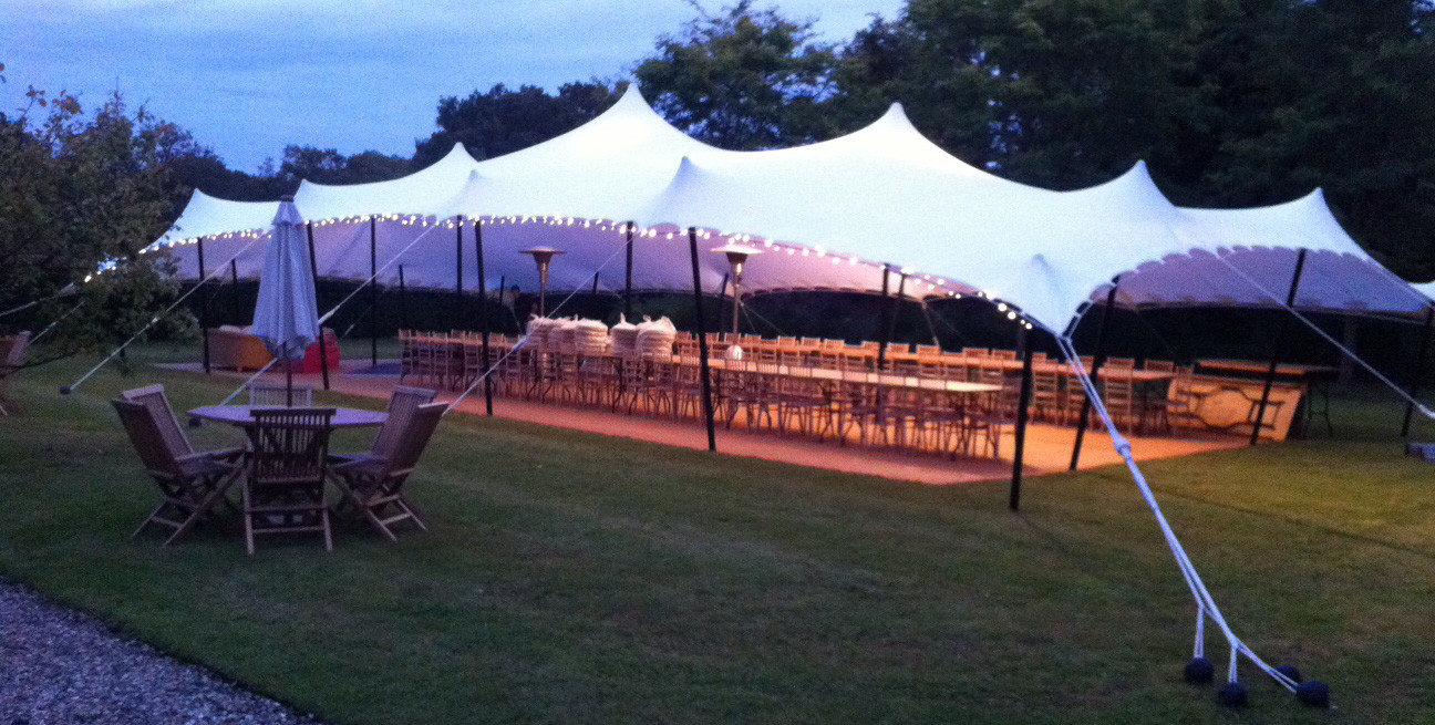 Alternative marquee hire & Earth Village Events - Stretch tent hire lighting and decor