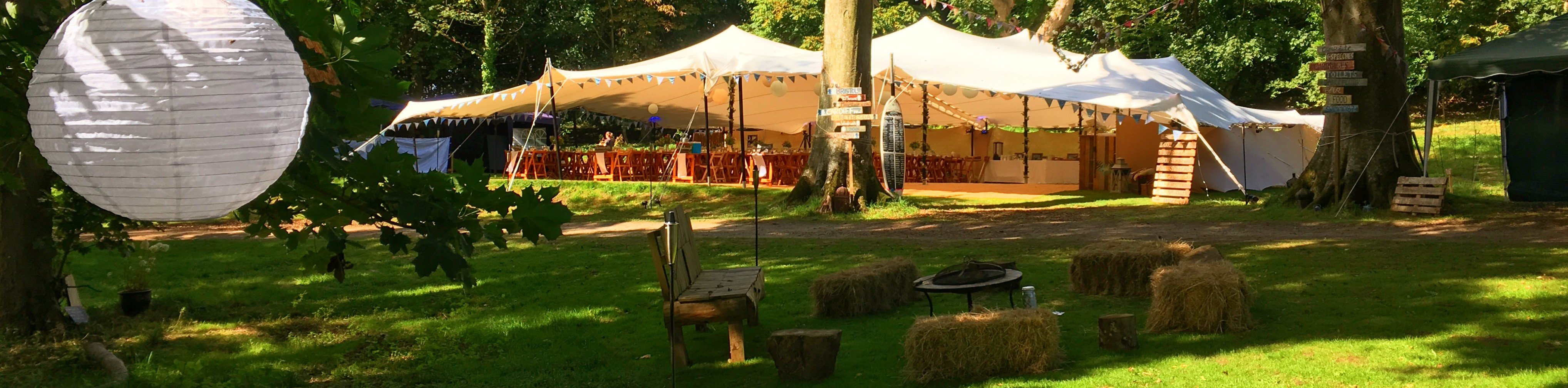 & Stretch tent hire Hampshire - Let us stretch your imagination