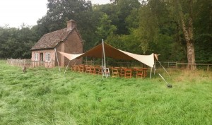 Earth Village Events Stretch Tents