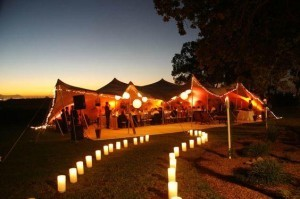 Stretch tent hire cost