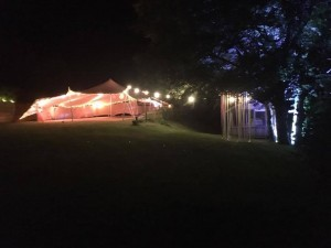 Party marquee, weddings and celebrations.