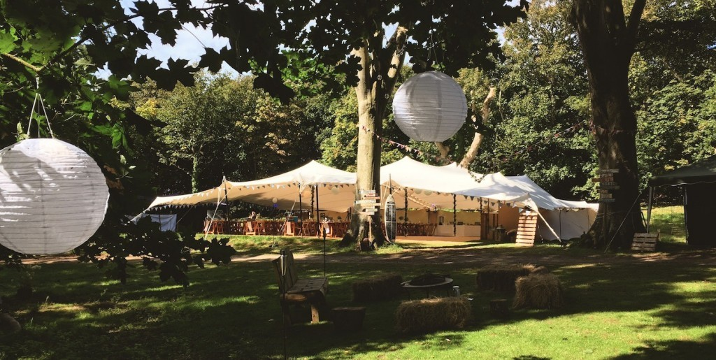 Stretch tent hire