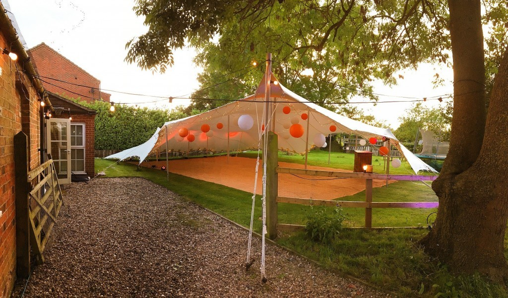 stretch tents for hire