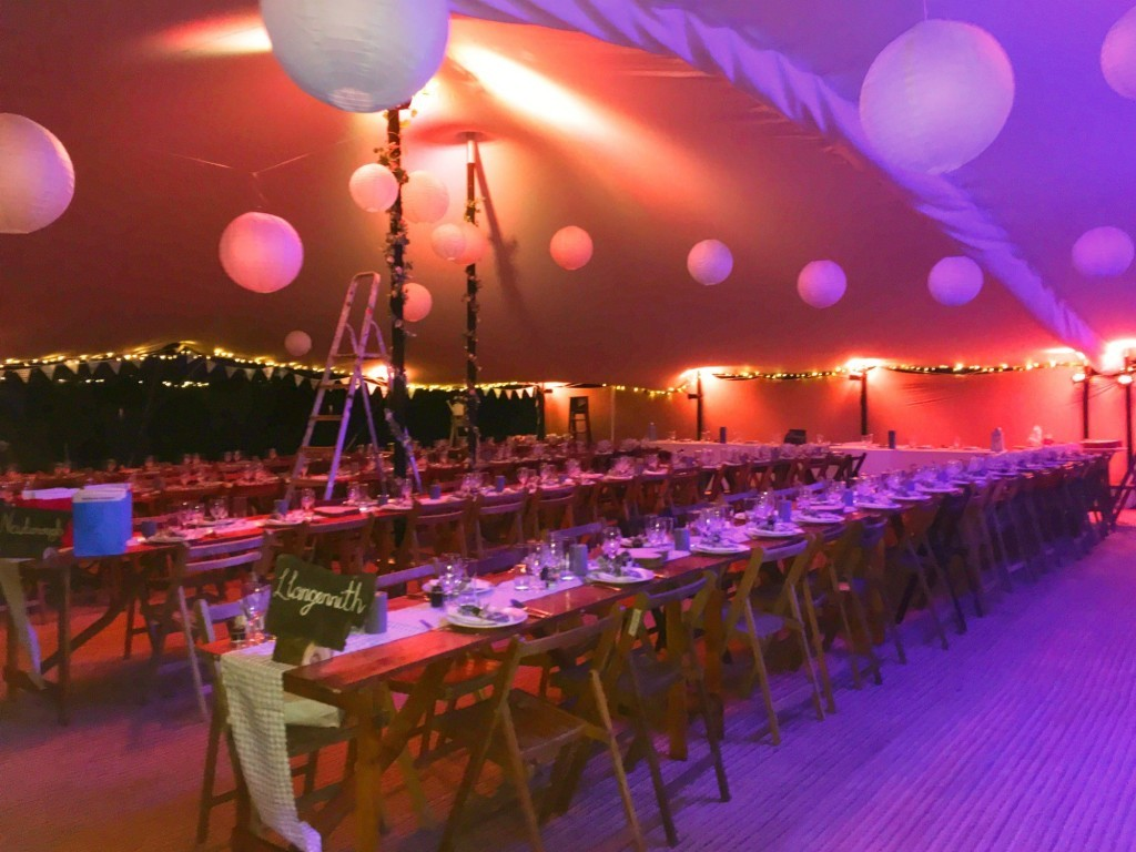 wedding stretch tent
